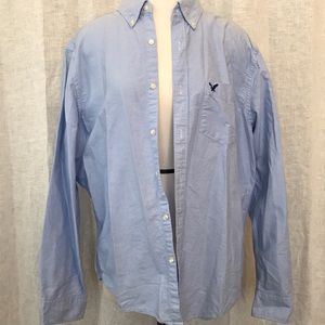 AE men's long sleeve button up